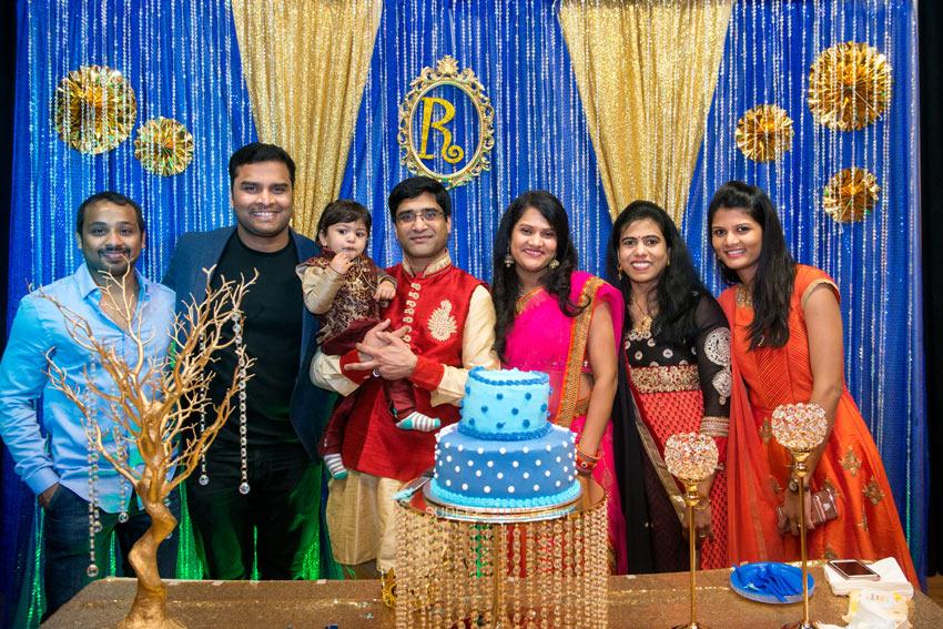 1st (first) Birthday Party Photography Indian Group Photos - Sudeep Studio.com Ann Arbor Photographer