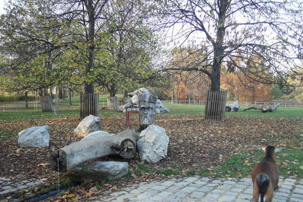 تماثيل حديقة كورباك