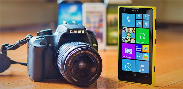 Comparison Between Smart phone Camera Vs DSLR