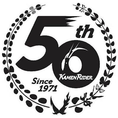 Kamen Rider series 50th Anniversary Logo!