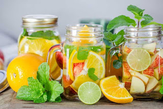 BETTER EAT FRESH FRUIT OR DRINK INFUSED WATER