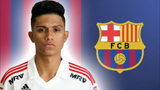 Barcelona new signing and wonderkid Gustavo Maia set to arrive in mid-August