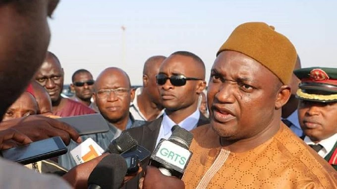 Gambia president donates 10% of his salary to national devt program