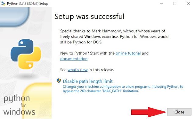 Close Python