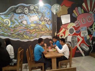 Angkringan COD Muara Enim review blogger