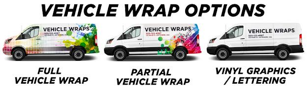vehicle wraps on van