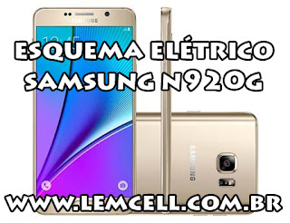 Esquema Elétrico Celular Smartphone Samsung Galaxy Note 5 SM N920 G Manual de Serviço  Service Manual schematic Diagram Cell Phone Smartphone Samsung Galaxy Note 5 SM N920 G