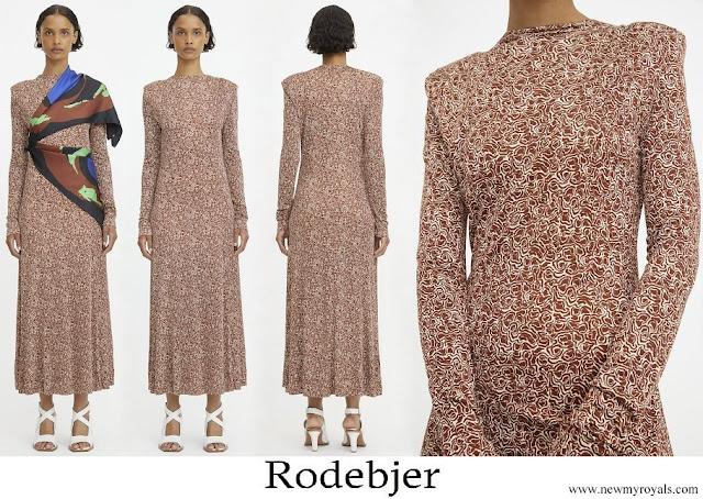 Princess Sofia wore Rodebjer Acela Swirl Dress