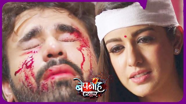 Heart-Broken Twist : Raghbir's life threatening disease shivers Pragati in fear of losing Raghbir forever in Bepanah Pyaar