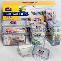 HPL818SHP - Lock & Lock Gift Set Isi 6 Pcs