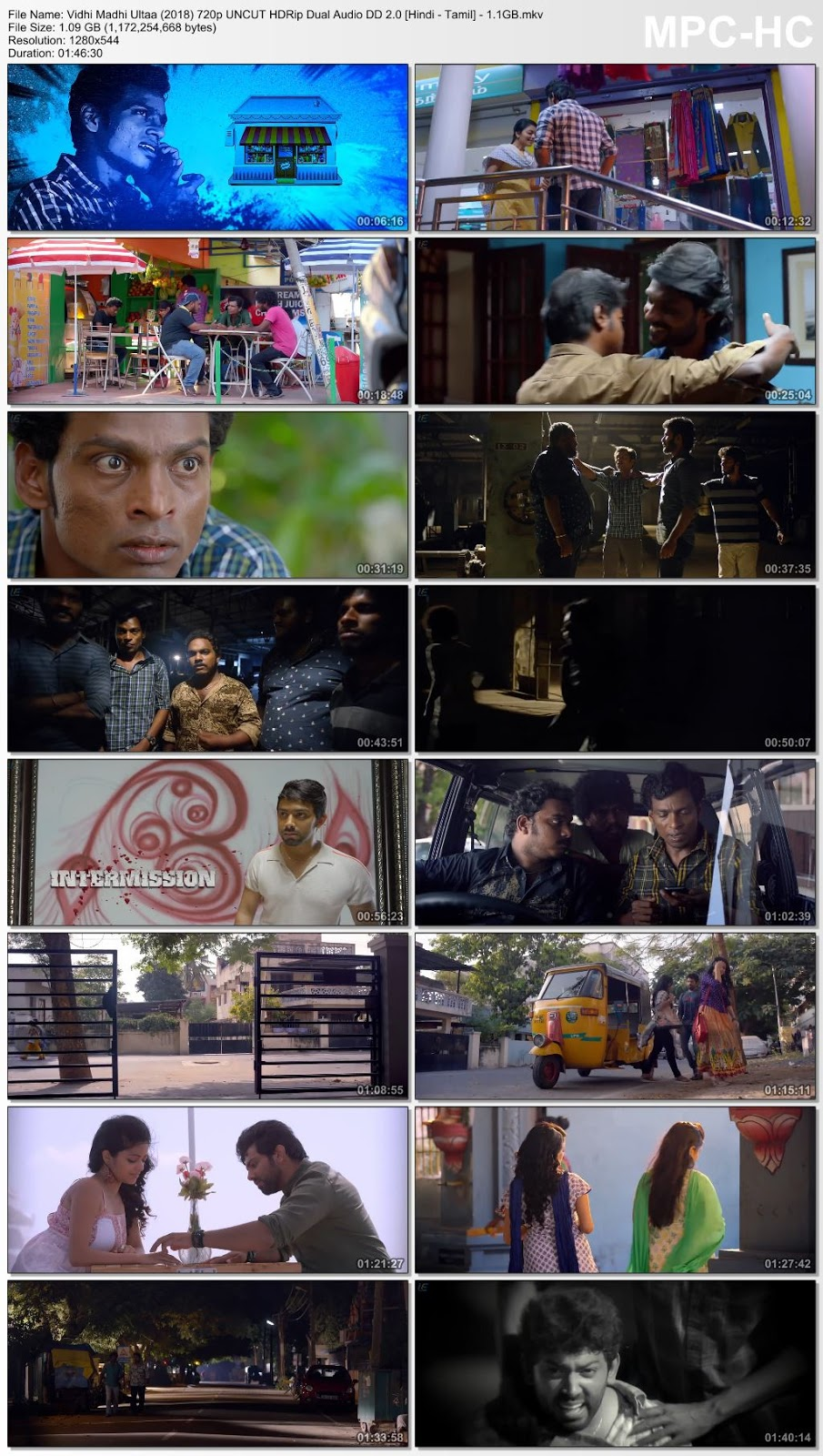 Thugbaaz (Vidhi Madhi Ultaa) (2019) 720p HDRip [Hindi – Tamil] – 1.1GB Desirehub