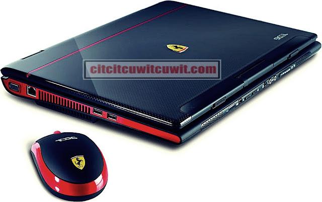 Laptop dengan harga termahal di dunia acer ferrari 1100