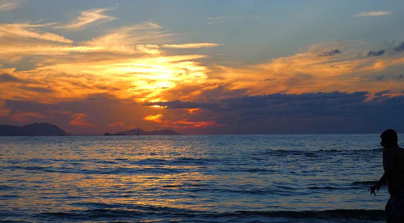 sope puesta sol
