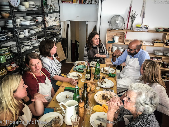 Latteria Studio Rome, Rachel Roddy, Alice Adams, Cookery School Rome
