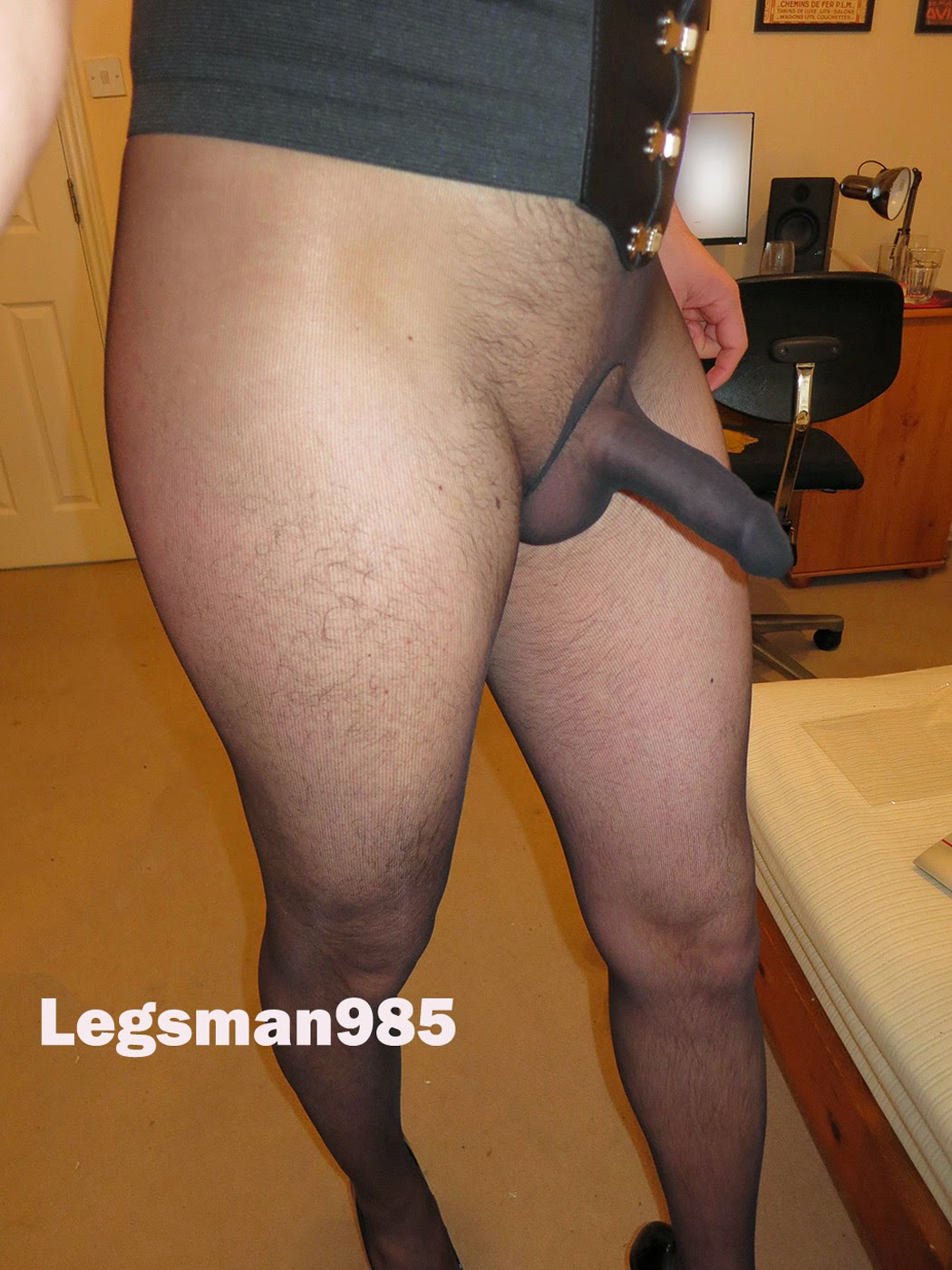 Man in pantyhose