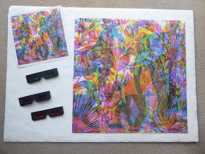 Jungle 3 In 1 Puzzle With Viewing Glasses