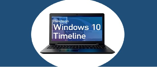 timeline de Windows 10