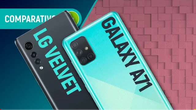 LG Velvet vs Galaxy A71: