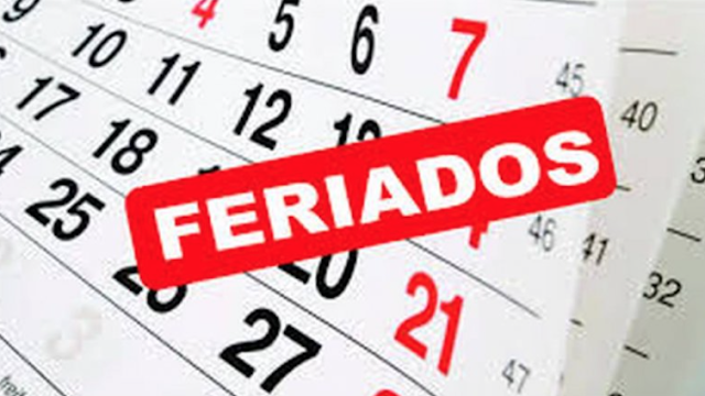 El feriado 17 de agosto ¿ pasa para el lunes 19 ? ¿es feriado puente no laborable ?