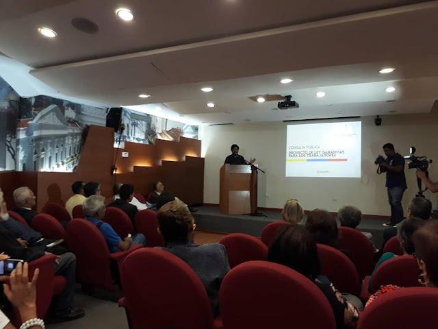 VENEZUELA: Consulta pública del Proyecto de Ley de Garantías para los trabajadores en el cese de la usurpación.
