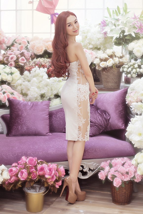 Full trọn bộ ảnh Hotgirl Kelly Nguyễn đẹp ngọt ngào