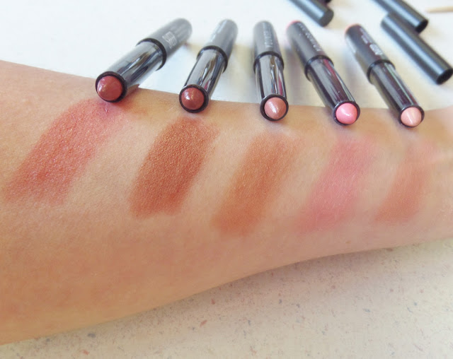 youngblood color-crays sheer lip crayons swatches