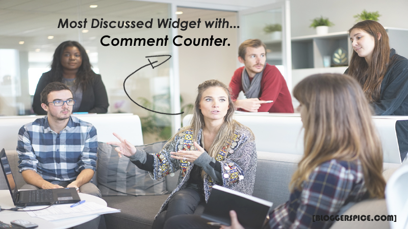most commented widget