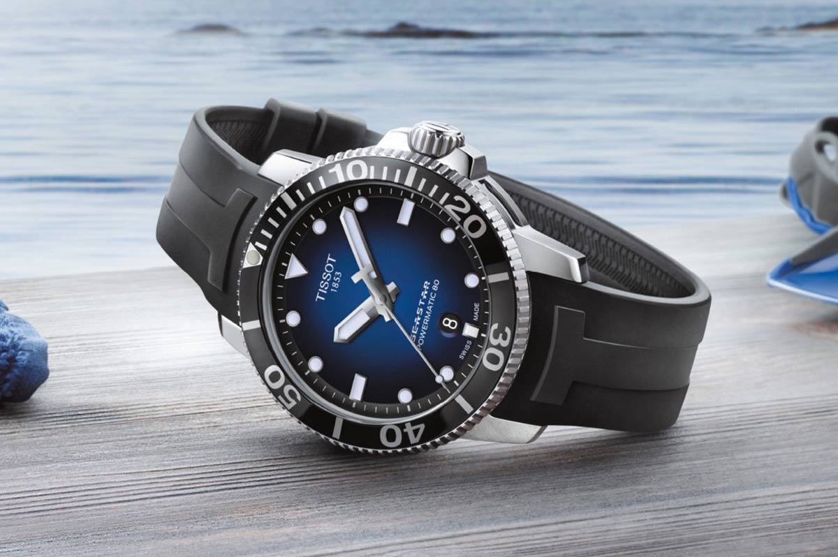 e2b5d493e Tissot - Seastar 1000 Automatic Diver 2018   Time and Watches