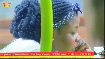 #BBNaija: Single Cindy Bites Her Nails As Merike, Frodster And Dialo Had Fun (VIDEO)