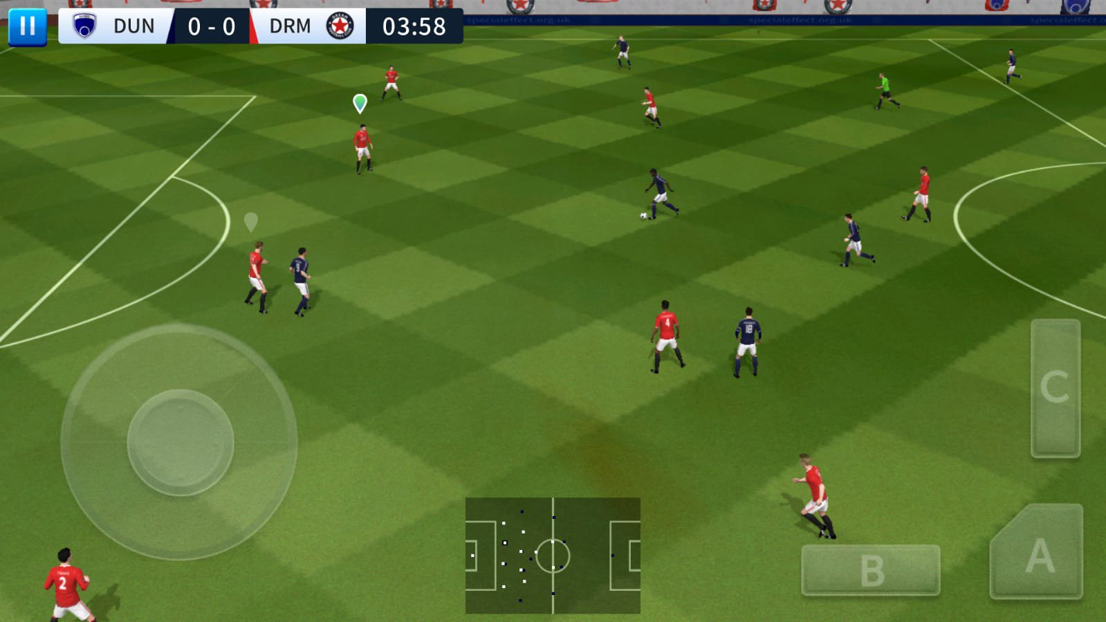تحميل لعبة dream league soccer مهكرة