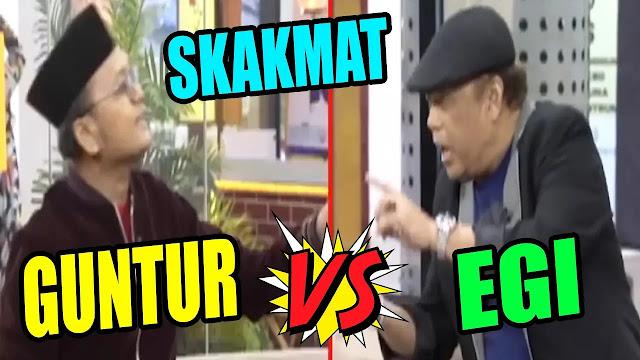 Politisi PSI, Guntur Romli Keok Dihajar Eggi Sudjana Saat Debat Perda