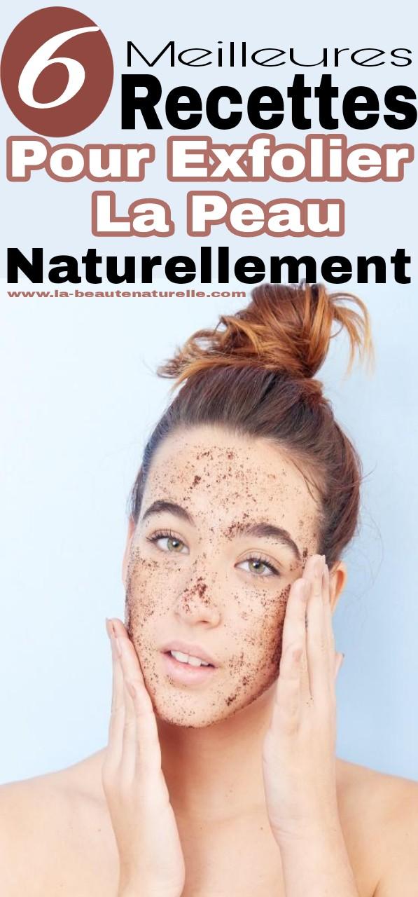 6 Meilleures recettes pour exfolier la peau naturellement