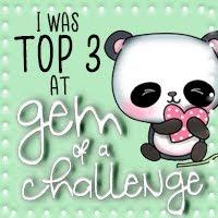 Top 3 Winner at A Gem Of A Challenge