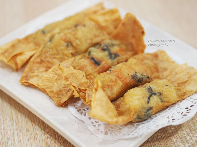 Fried Bean Curd Skin Rolls