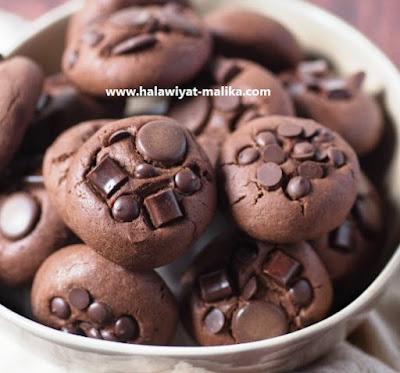 كوكيز الشوكولاته روعة