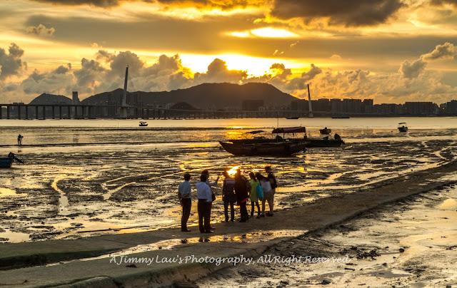 Jimmy的旅遊與攝影日誌: 香港日落拍攝好去處 - 流浮山