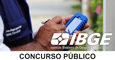 Concurso IBGE para temporários: 234 mil vagas para 2019