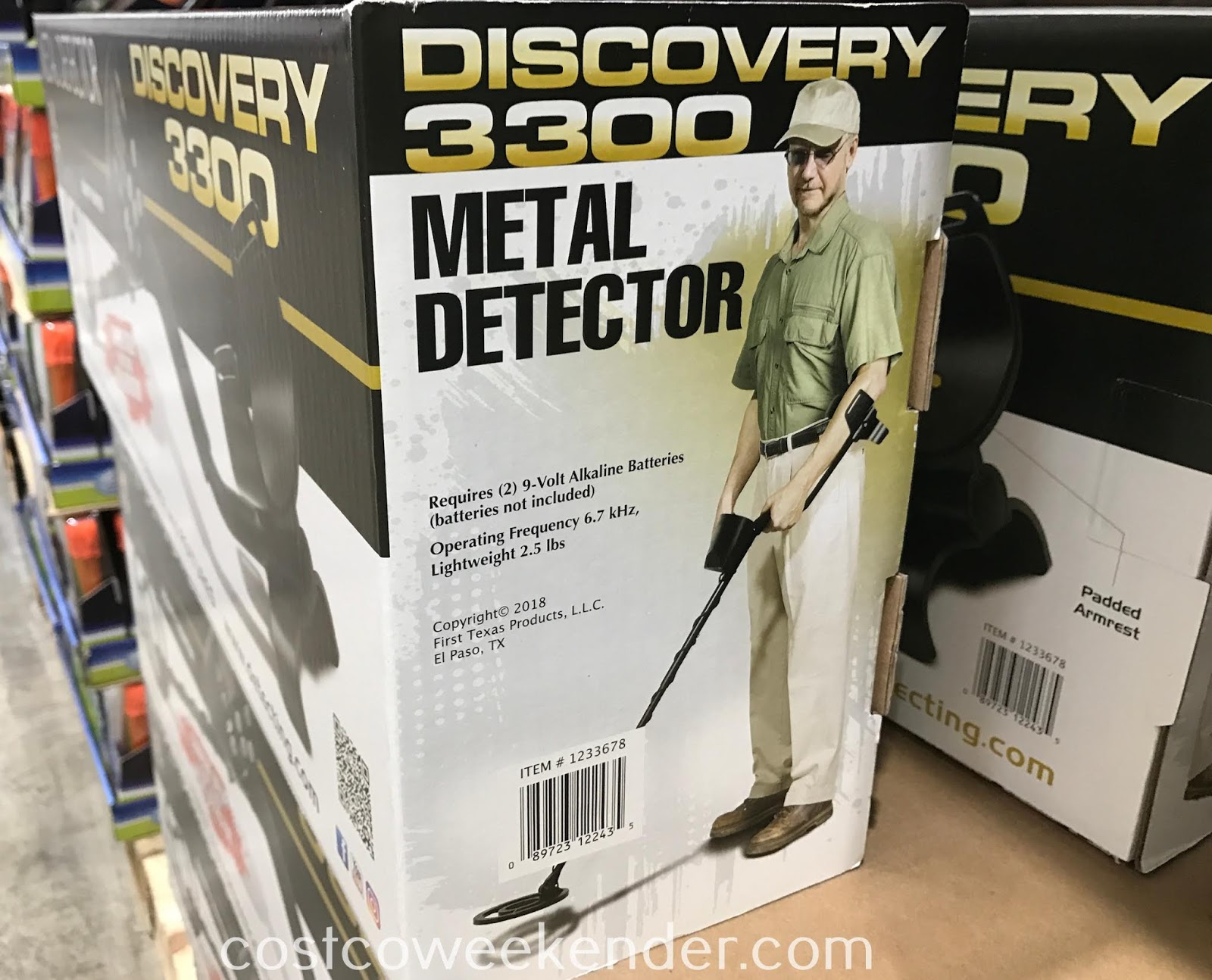 Costco 1233678 - Find unique objects below our feet with the Bounty Hunter Discovery 3300 Metal Detector