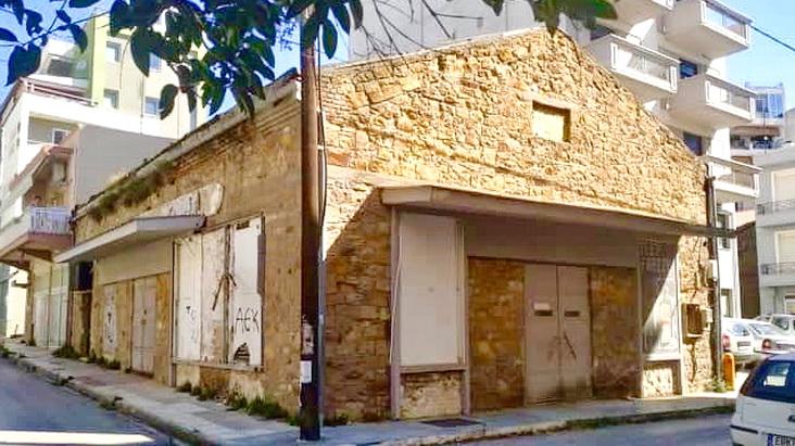 Παύλος Μιχαηλίδης: Να διασωθεί το πέτρινο κτίριο του παλαιού Χαλβαδοποιείου