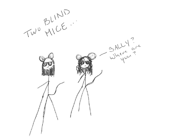 Blind Mice with Attitude