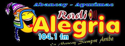 Radio Alegria Abancay 104.1 FM