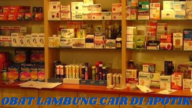 OBAT LAMBUNG CAIR DI APOTIK