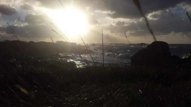 Brignogan plages tempête