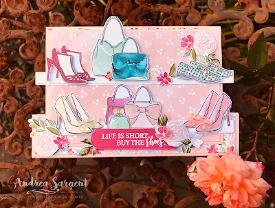 Best Dressed, Dressed To Impress, Andrea Sargent, Stampin Up, Art with Heart, AWHT, Creative Showcase, blog hop, fancy fold