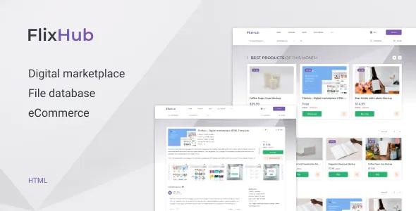 Best Digital Marketplace Template