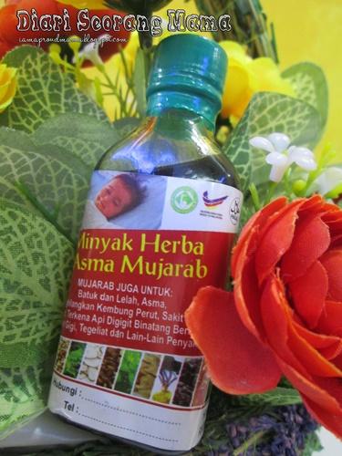 Pastikan Minyak Herba Asma Mujarab Asli Baru Beli