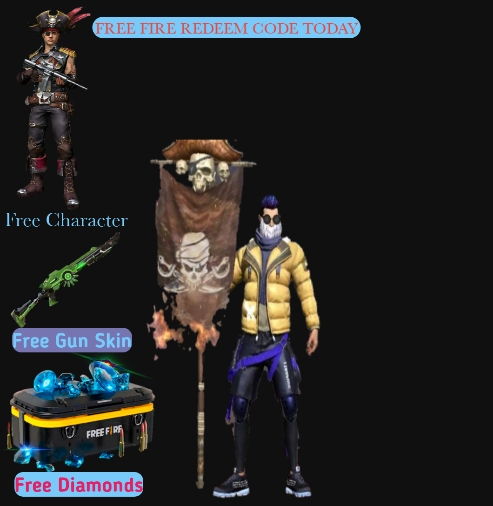 Free Fire redeem codes today - 2021