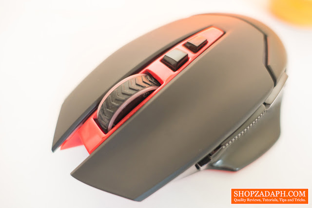 redragon mirage wireless gaming mouse review
