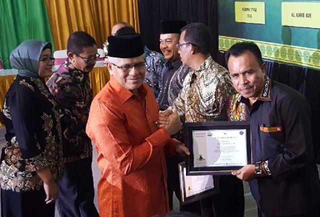 Aceh Tengah Raih Penghargaan Produktivitas Siddhakarya 2016
