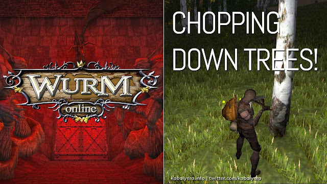 Chop DOWN Some Trees! [Wurm Online Gameplay 2020]
